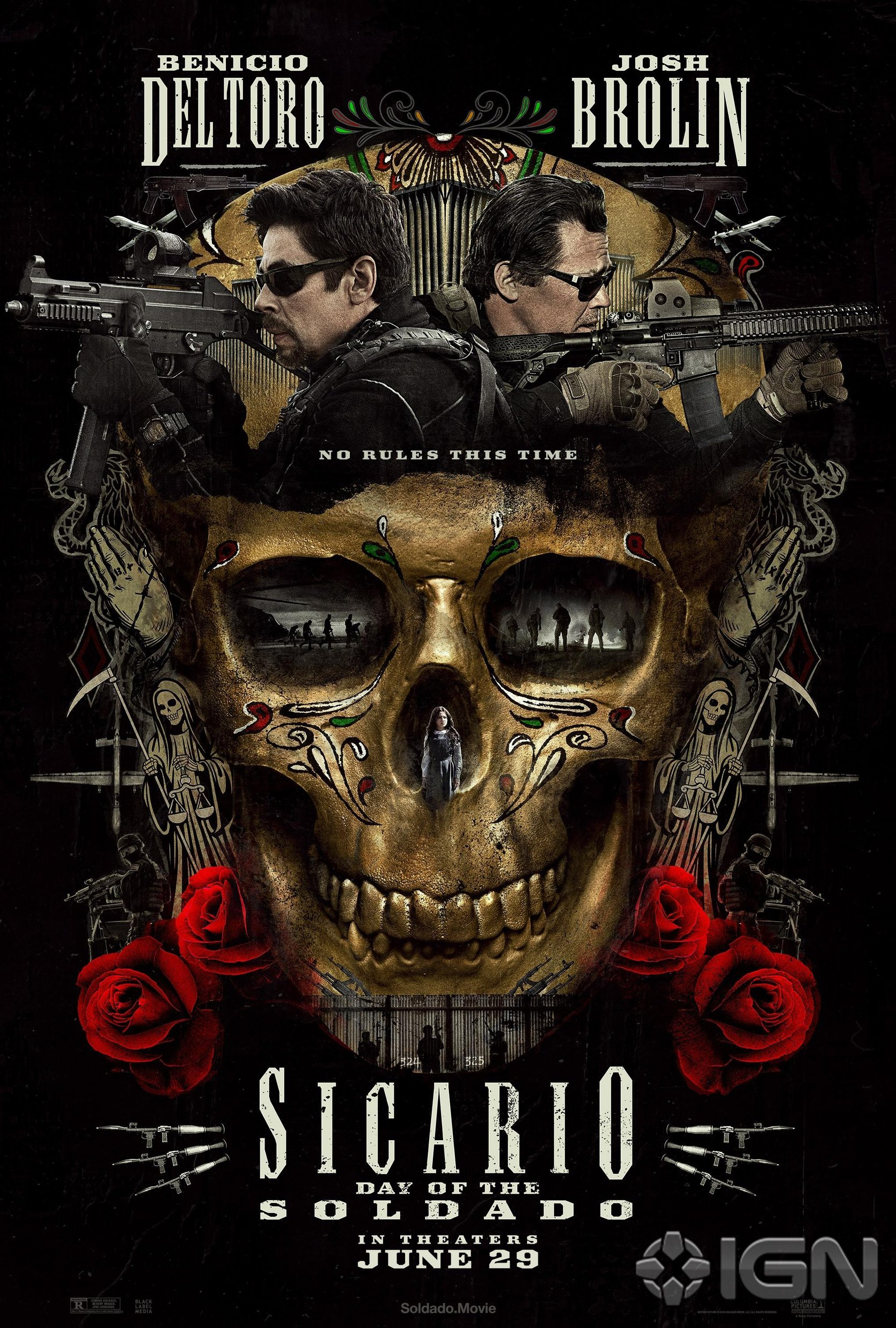 Sicario 2 Trailer Poster 1