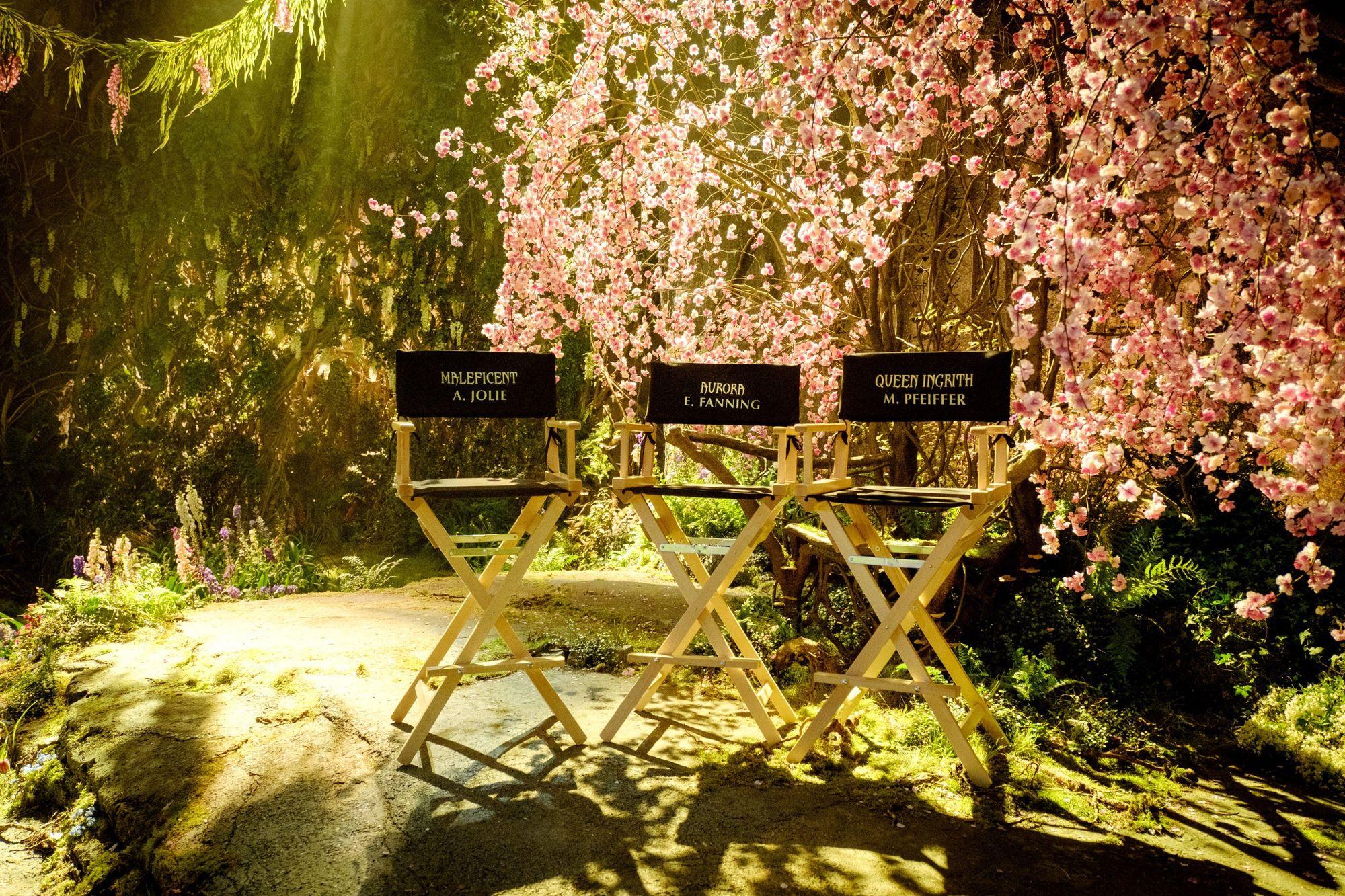 Maleficent 2 Drehbeginn Setbild
