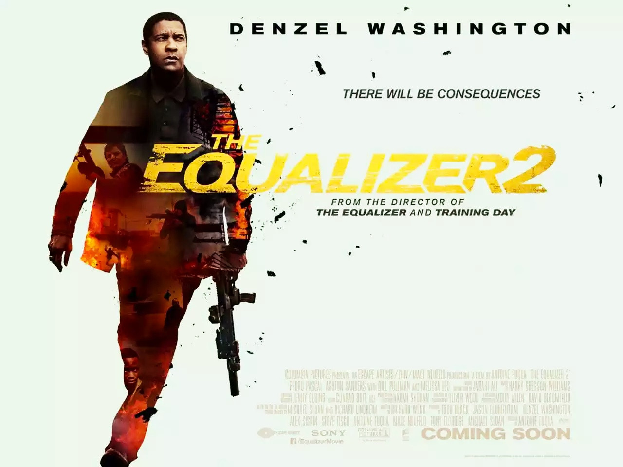 The Equalizer 2 Trailer & Poster 1