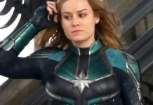 Captain Marvel Drehende