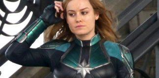 Captain Marvel Drehende