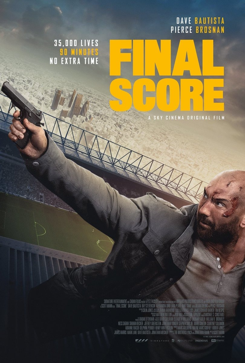 Final Score Trailer & Poster
