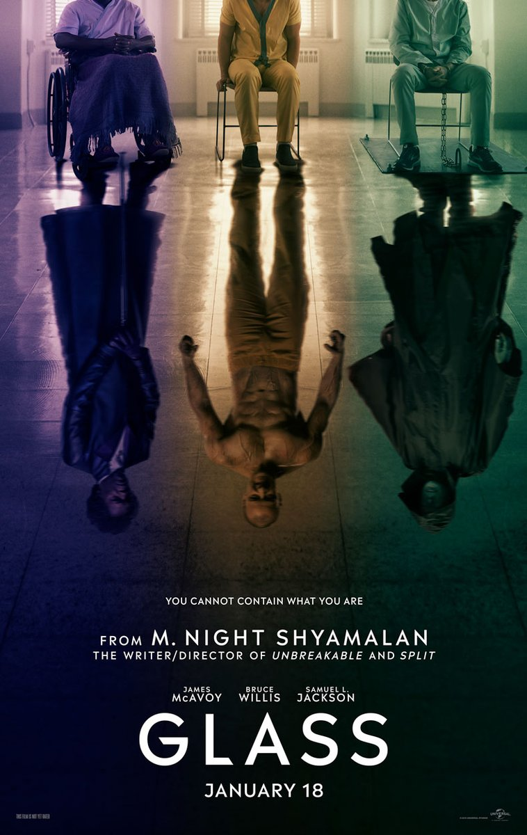 Glass Trailer & Poster 1