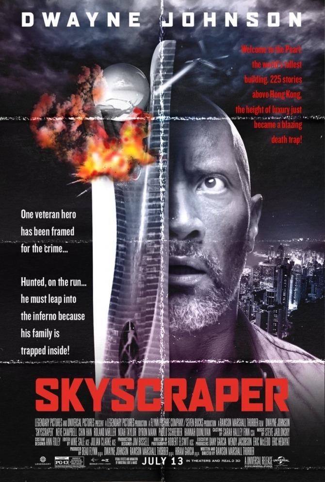 Skyscraper Trailer & Poster