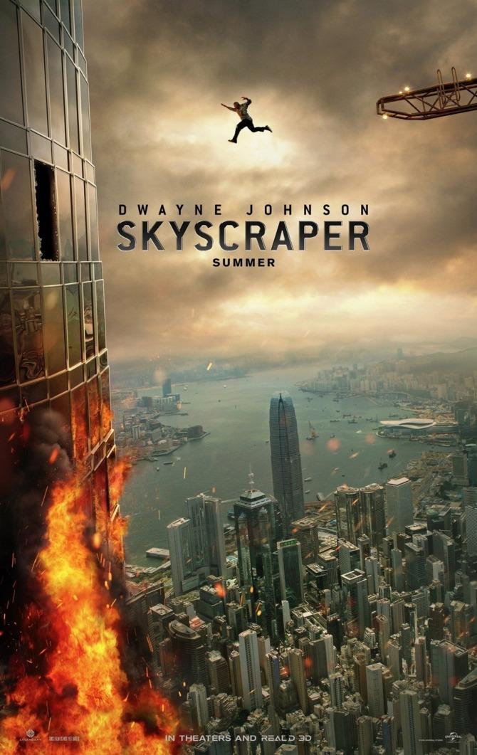 Skyscraper Trailer & Poster 4