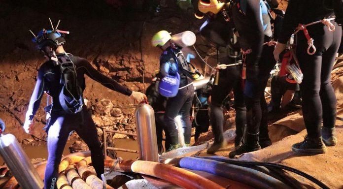Thailand Höhlenrettung Film