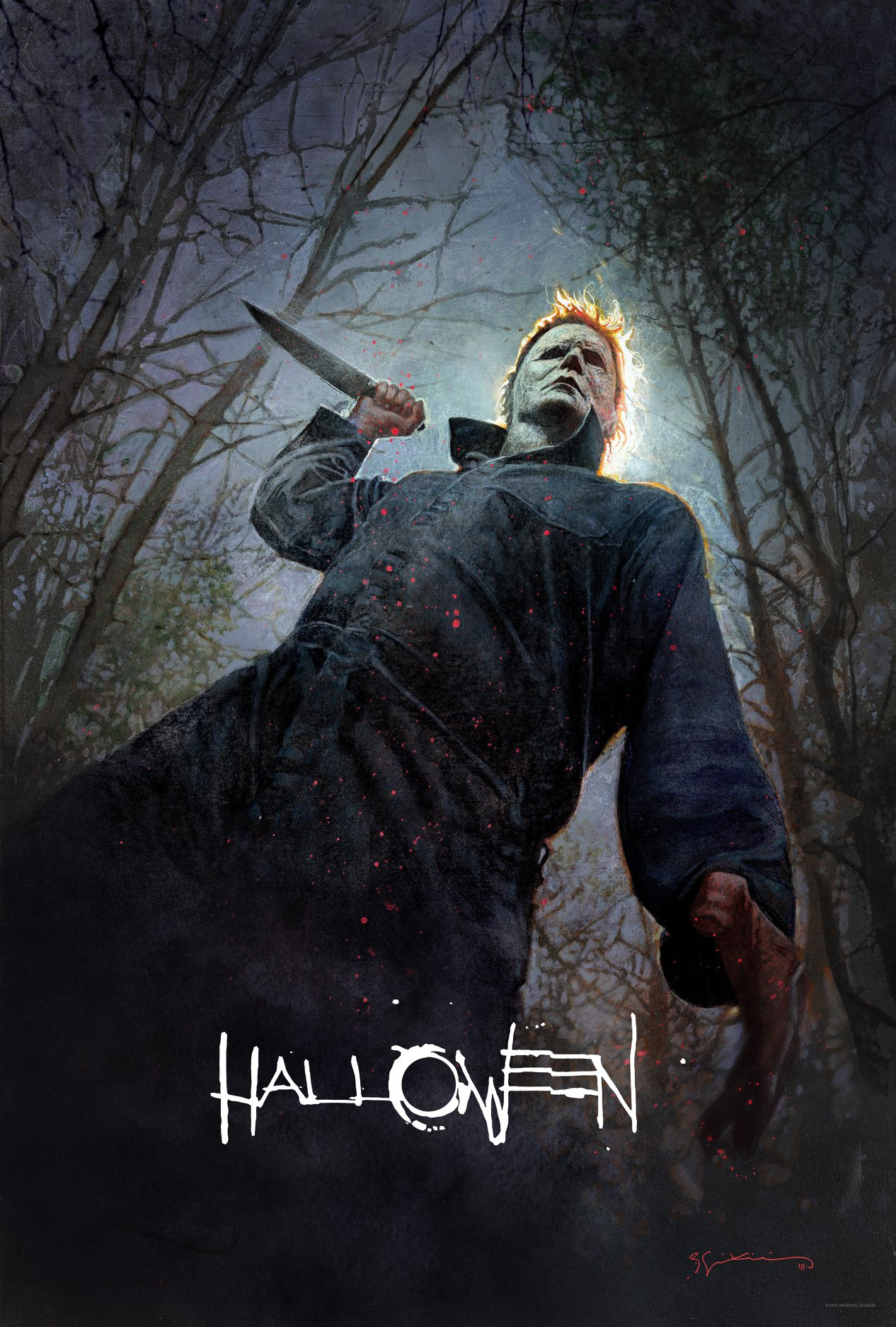 Halloween R Rating Poster