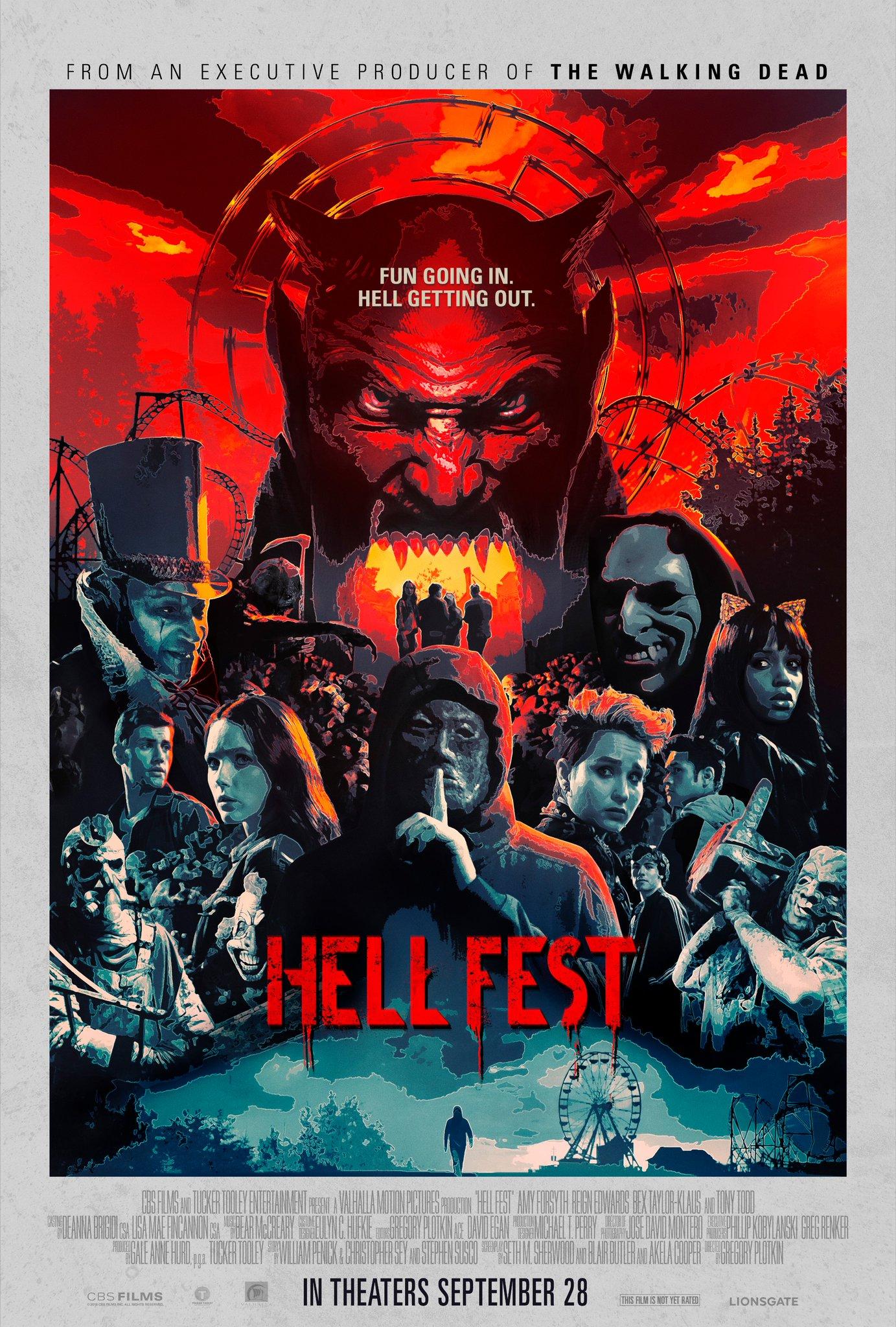 Hell Fest Trailer & Poster 2