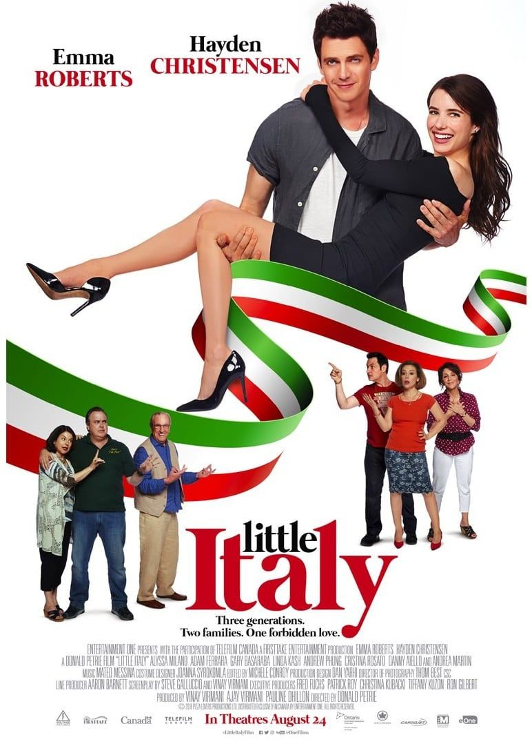 Little Italy Emma Roberts Poster 1