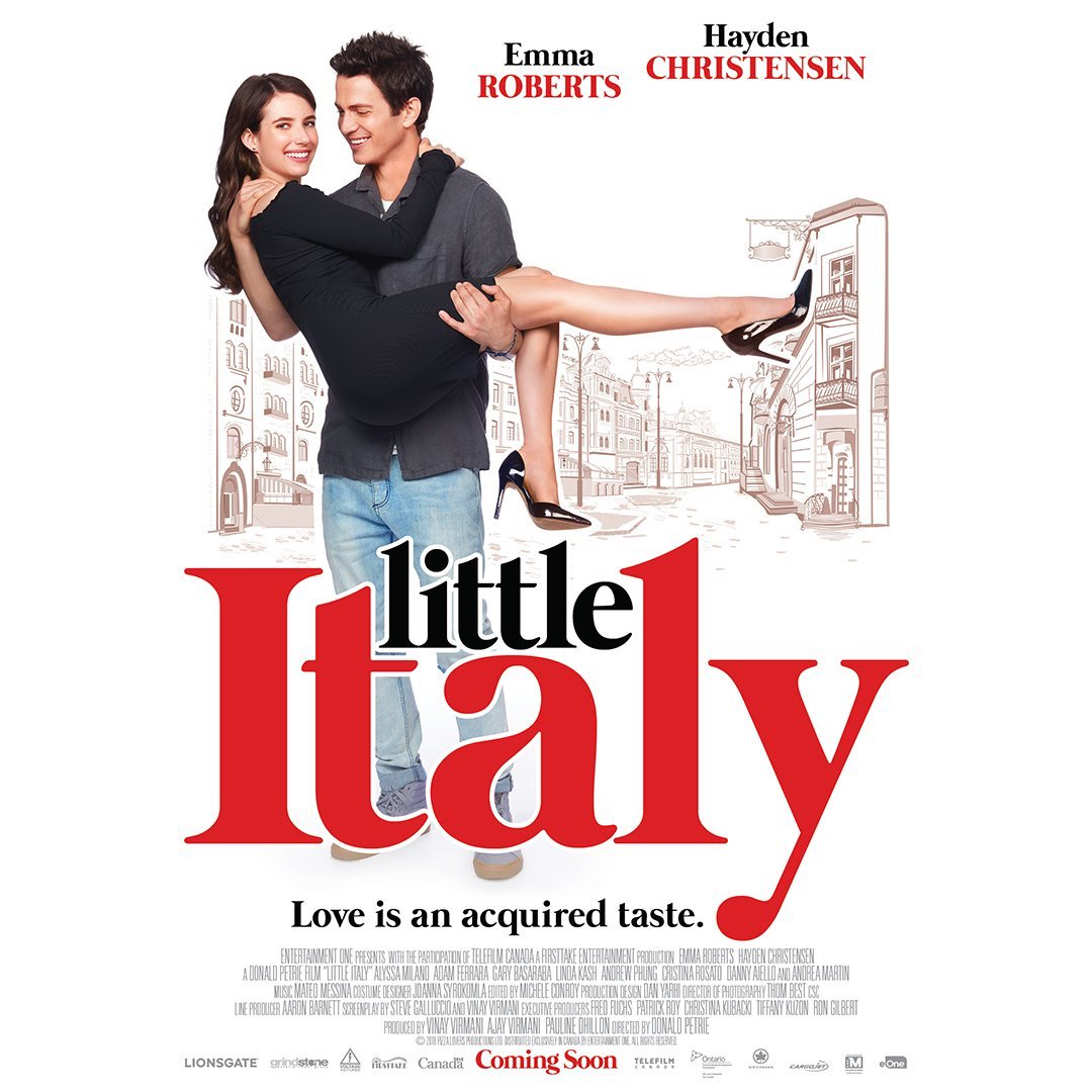 Little Italy Emma Roberts Poster 2