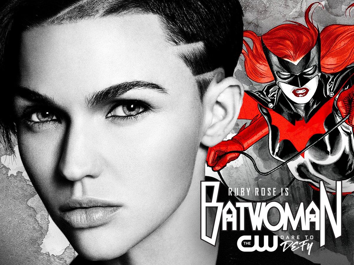Ruby Rose Batwoman Ankündigung