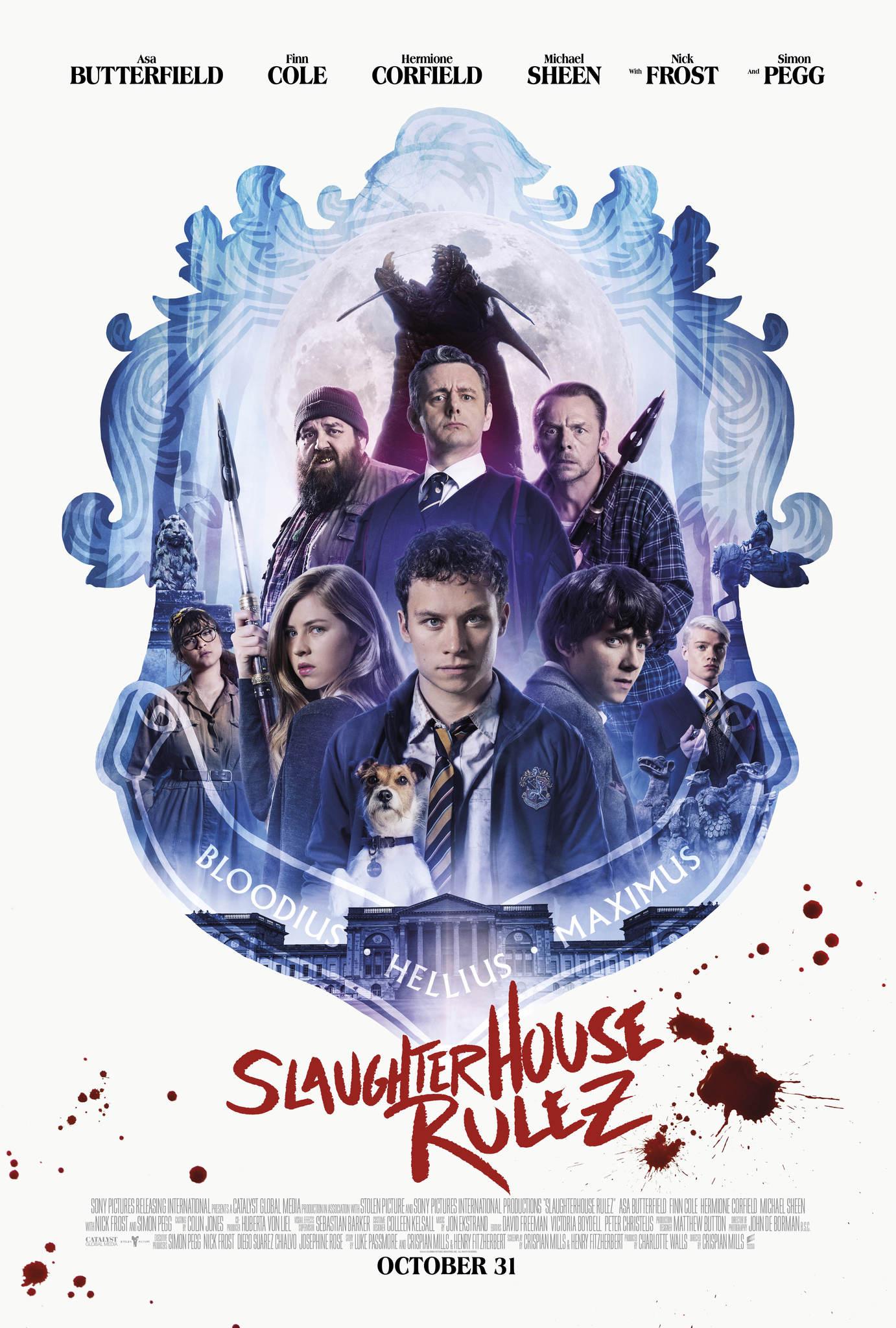 Slaughterhouse Rulez Trailer & Poster