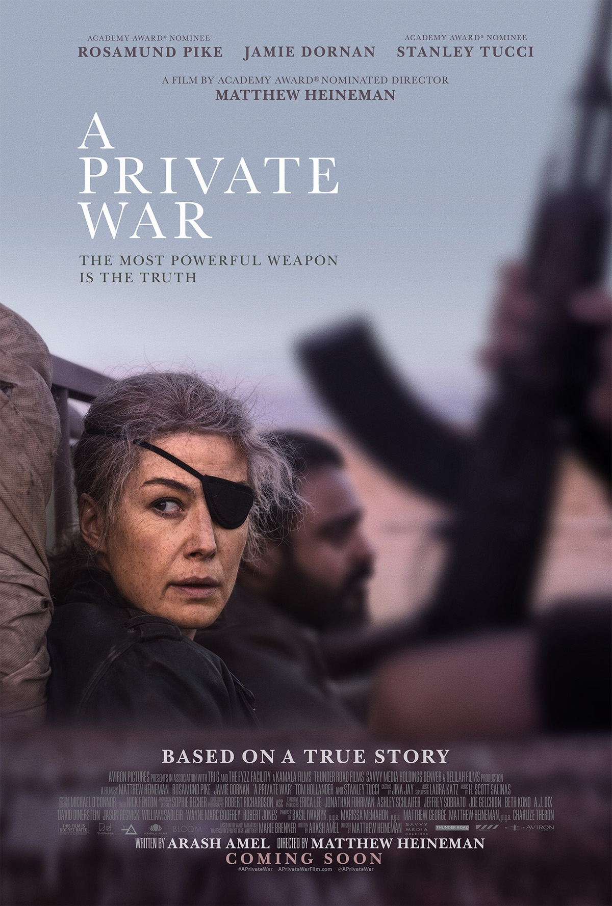 A Private War Trailer & Poster