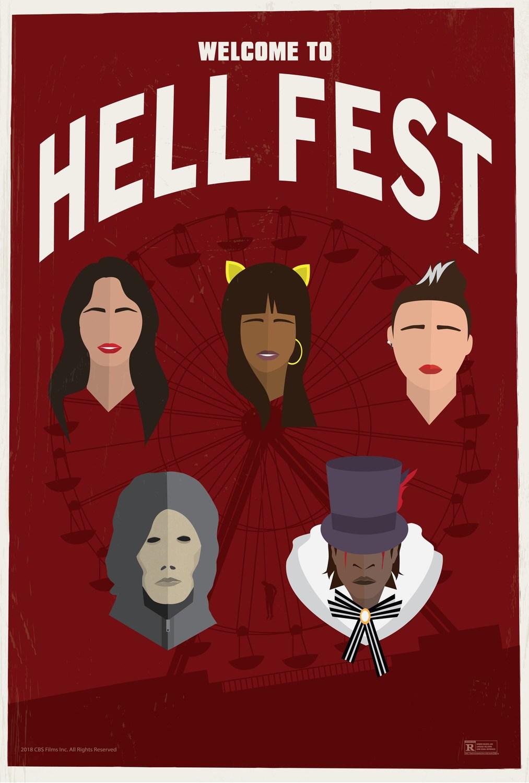 Hell Fest Retro Trailer & Poster 4