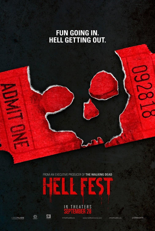 Hell Fest Retro Trailer & Poster 3