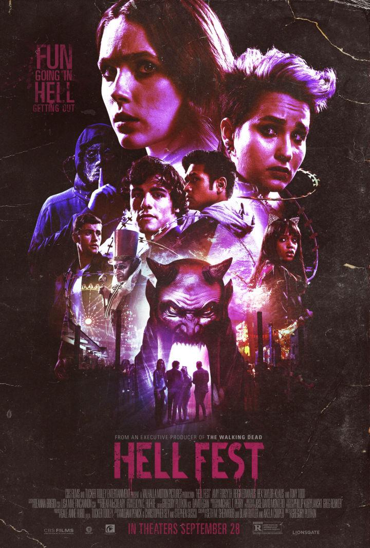 Hell Fest Retro Trailer & Poster 1