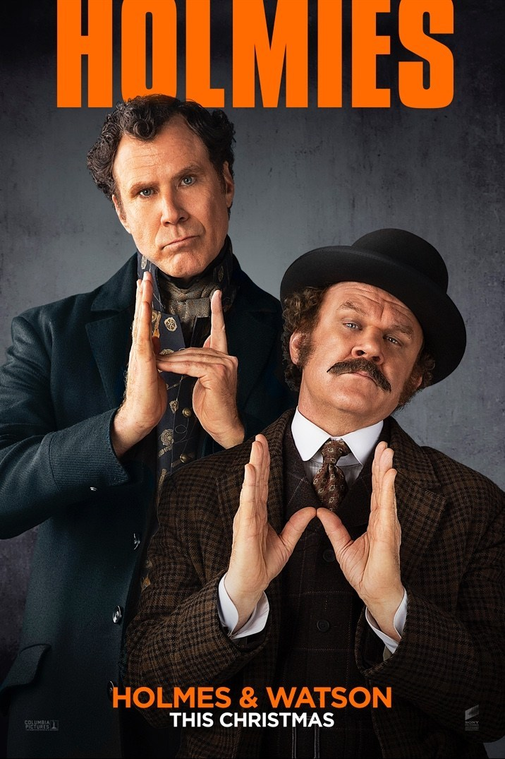 Holmes and Watson Trailer & Poster