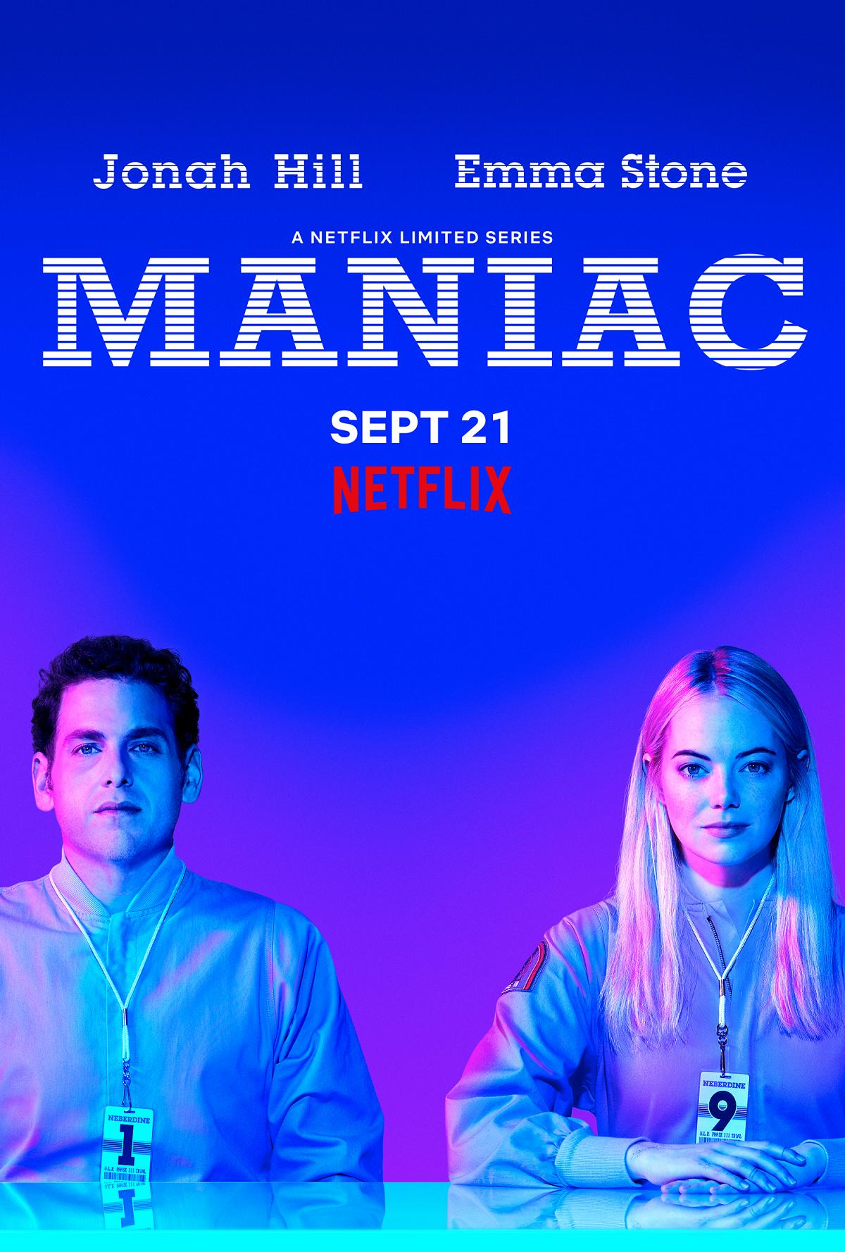 Maniac Trailer & Poster