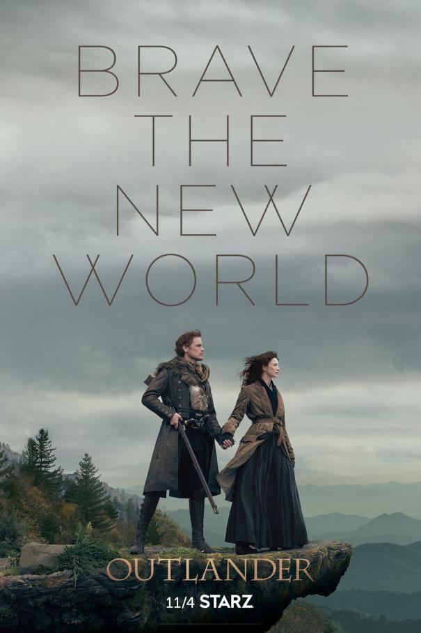 Outlander Staffel 4 Start Poster
