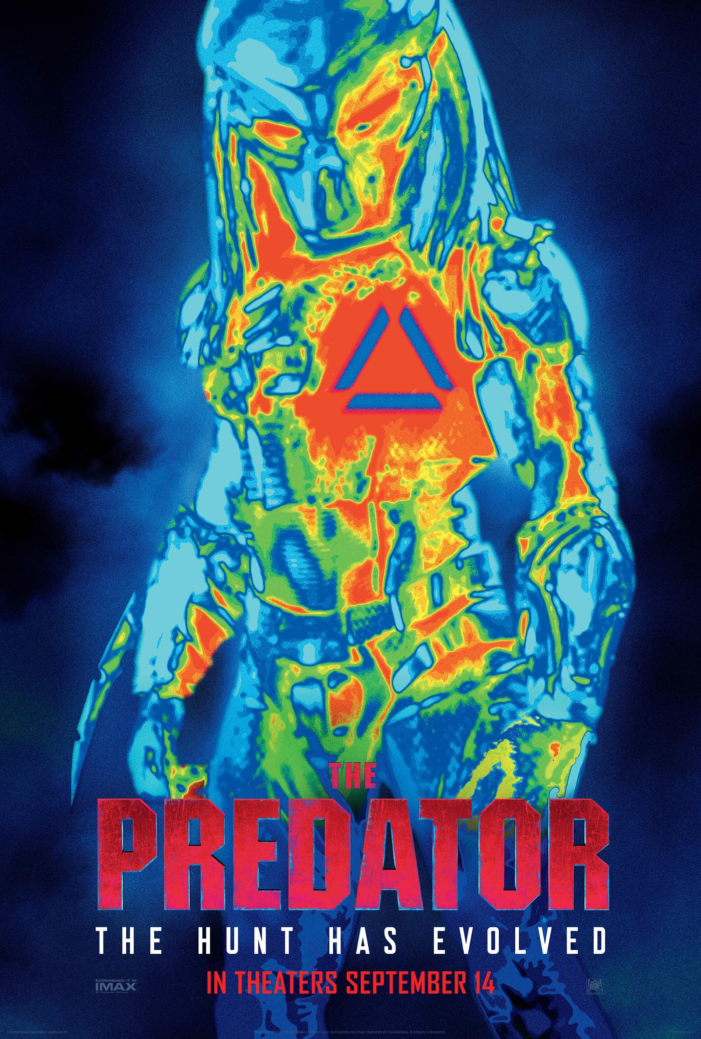Predator Upgrade Red Band Trailer & Poster