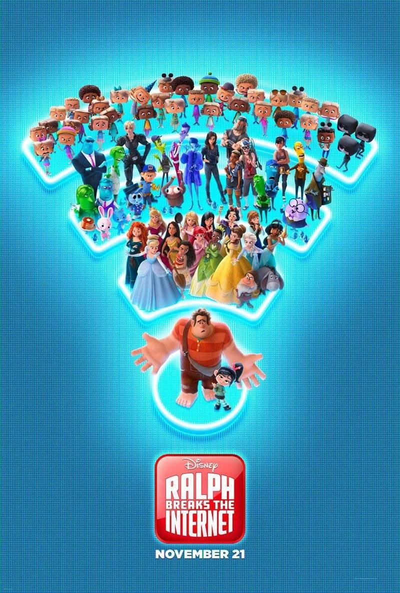 Ralph reichts 2 Trailer & Poster
