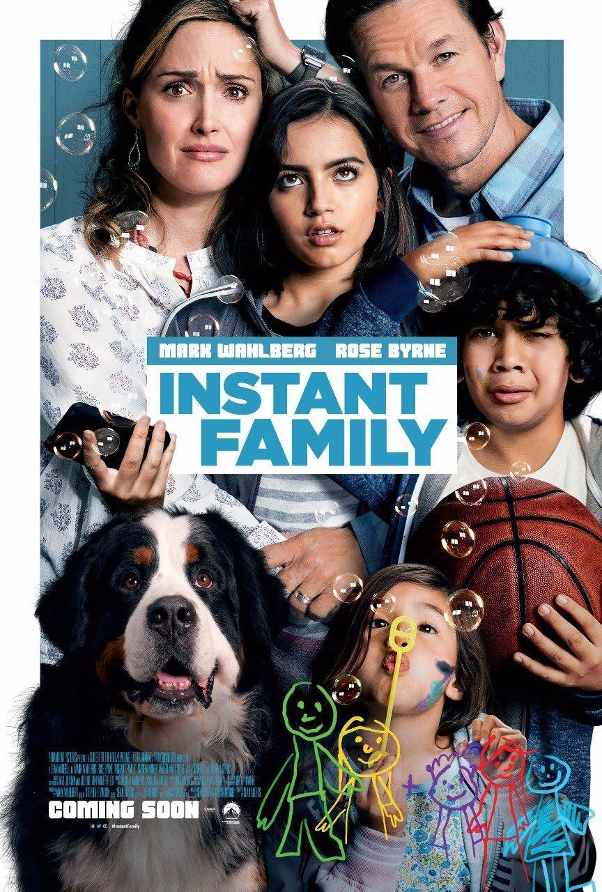 Plötzlich Familie Mark Wahlberg Poster 1