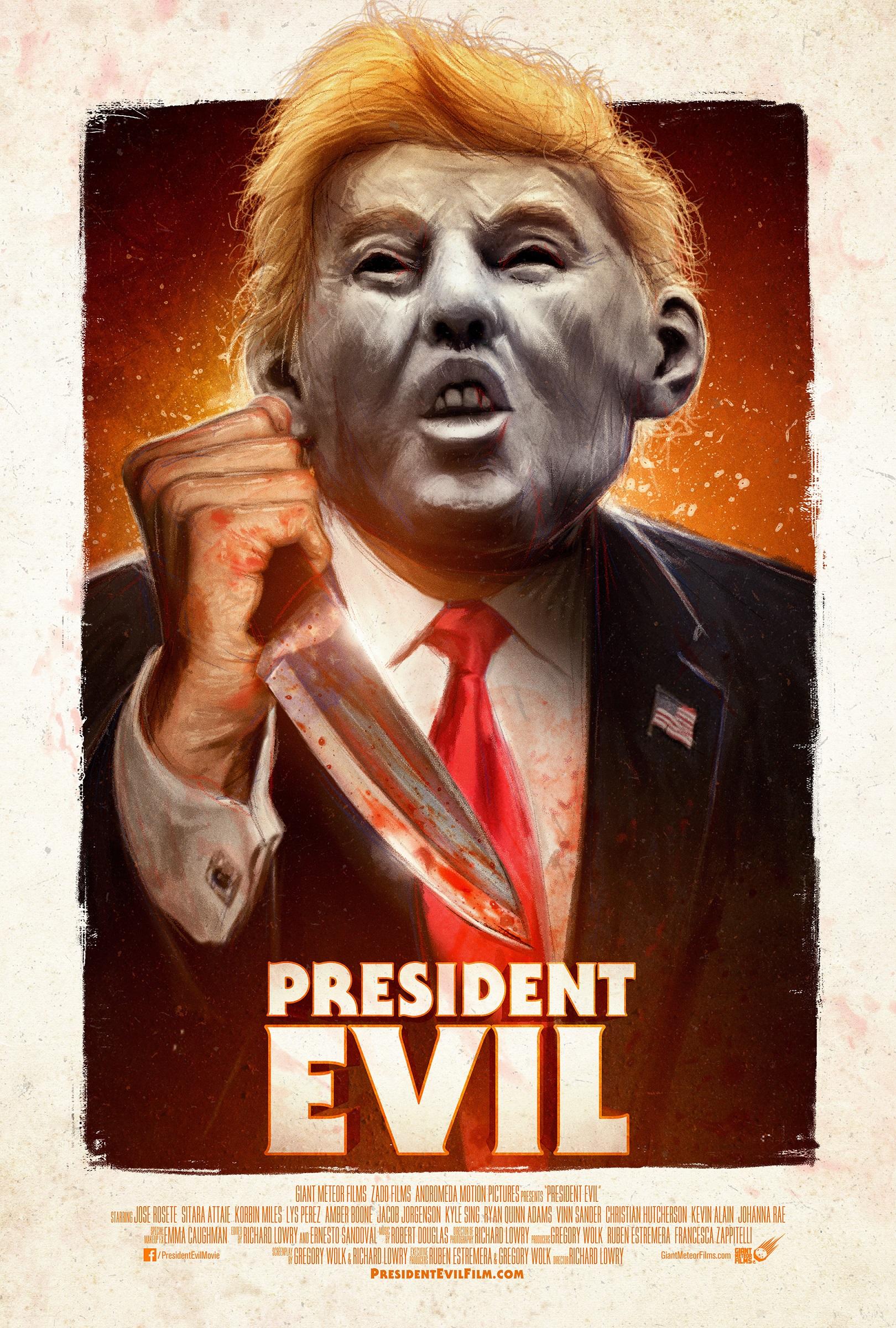 President Evil Trailer & Poster