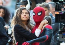 Spider Man Far From Home Drehende