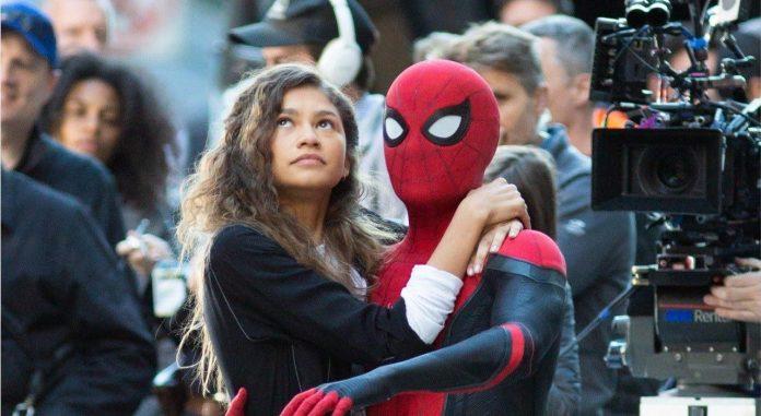 Spider Man Far From Home Drehende