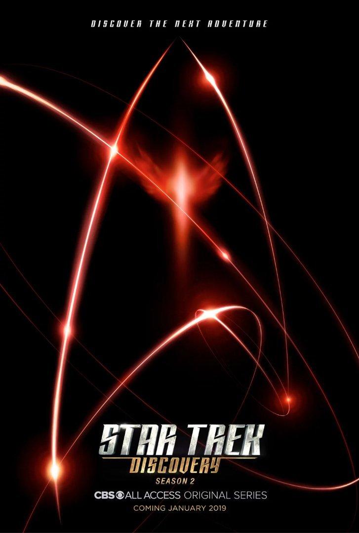 Star Trek Discovery Staffel 2 Start & Poster