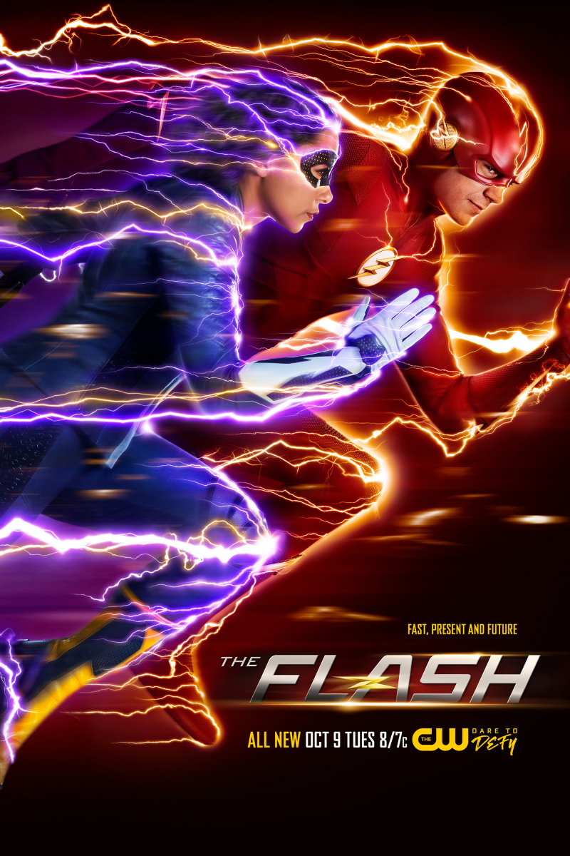 The Flash Staffel 5 Start & Plakat 2