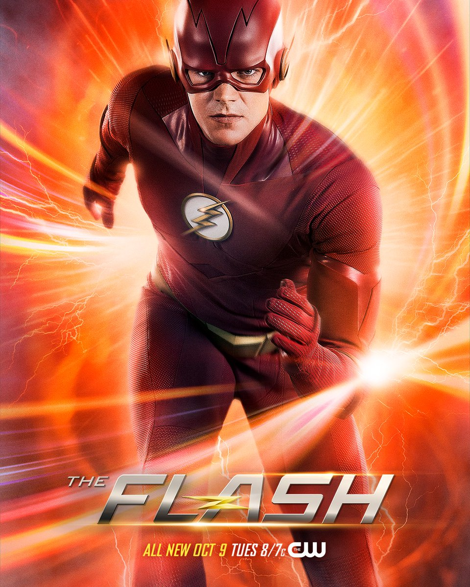 The Flash Staffel 5 Start & Plakat 1