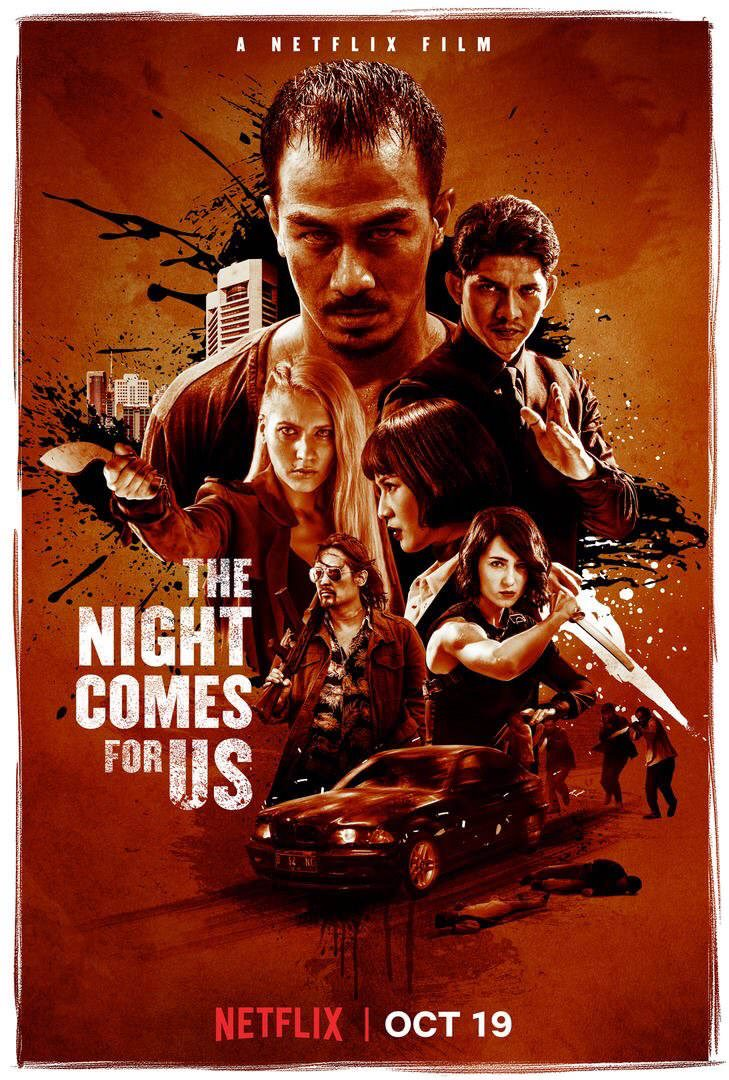 The Night Comes for Us Poster & Trailer