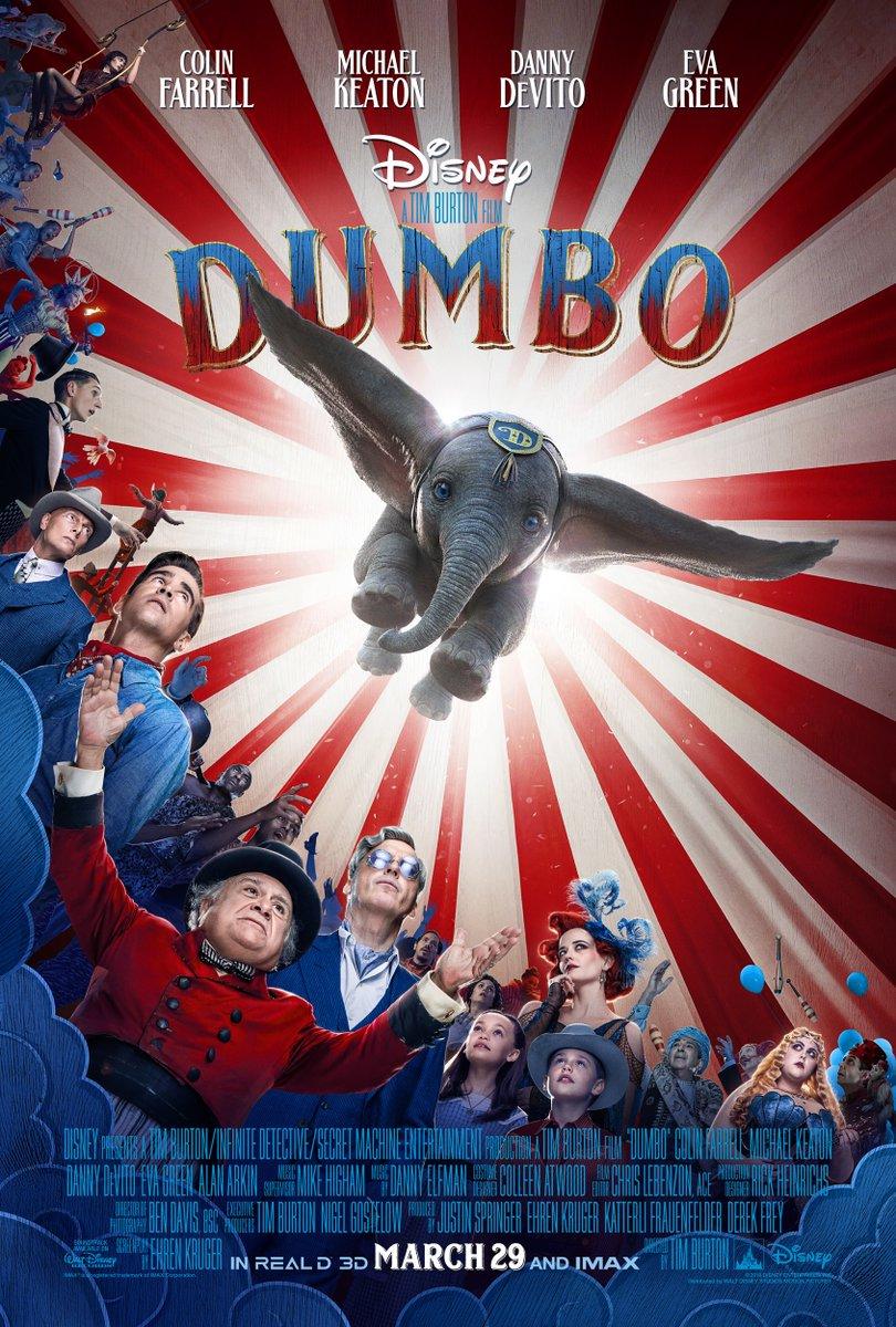 Dumbo Trailer & Poster