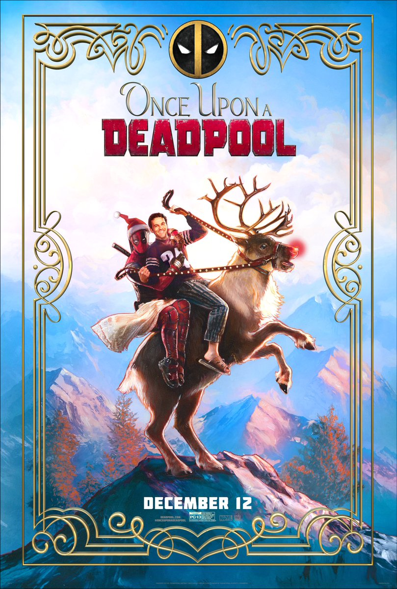 Once Upon a Deadpool Trailer & Poster