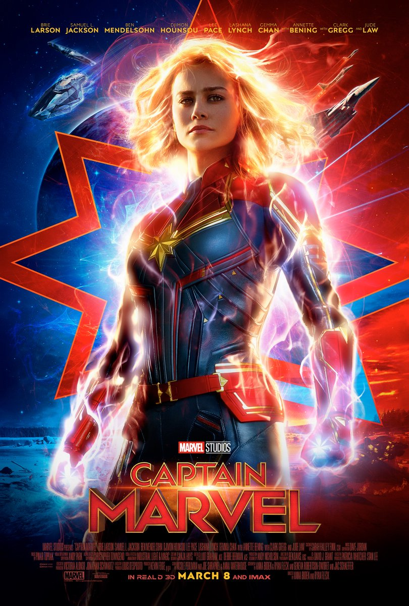 Captain Marvel Poster 2