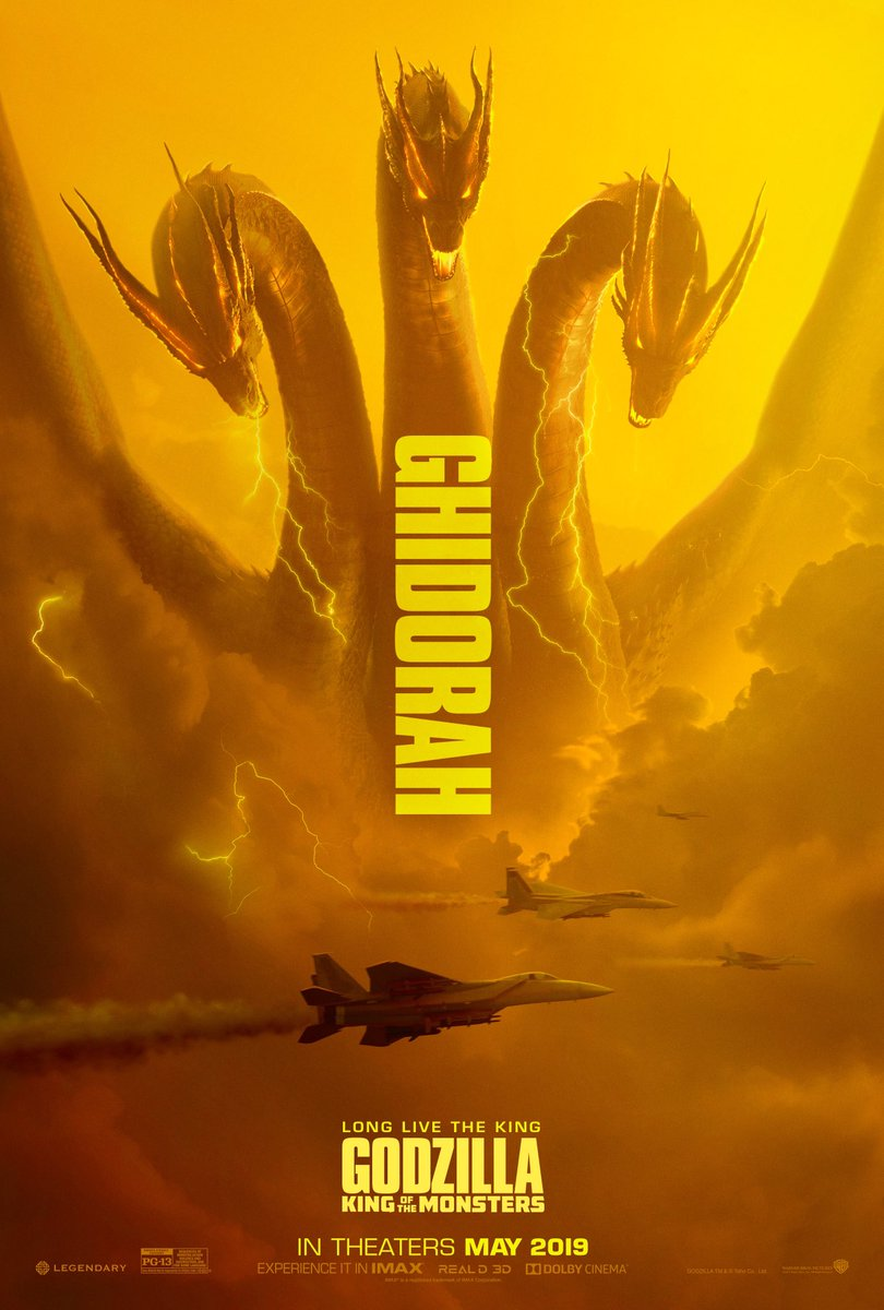 Godzilla II Monster King Ghidorah