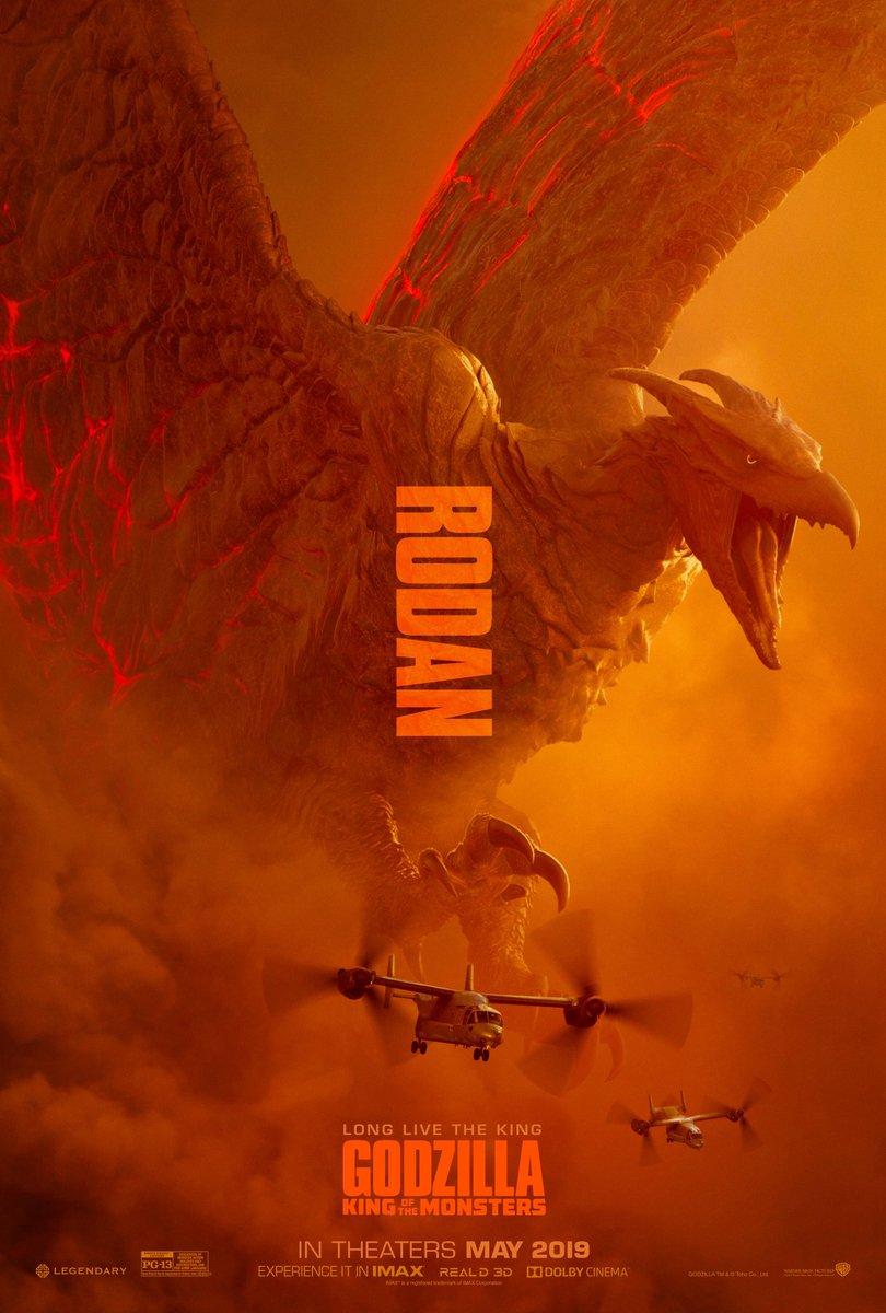 Godzilla II Monster Rodan