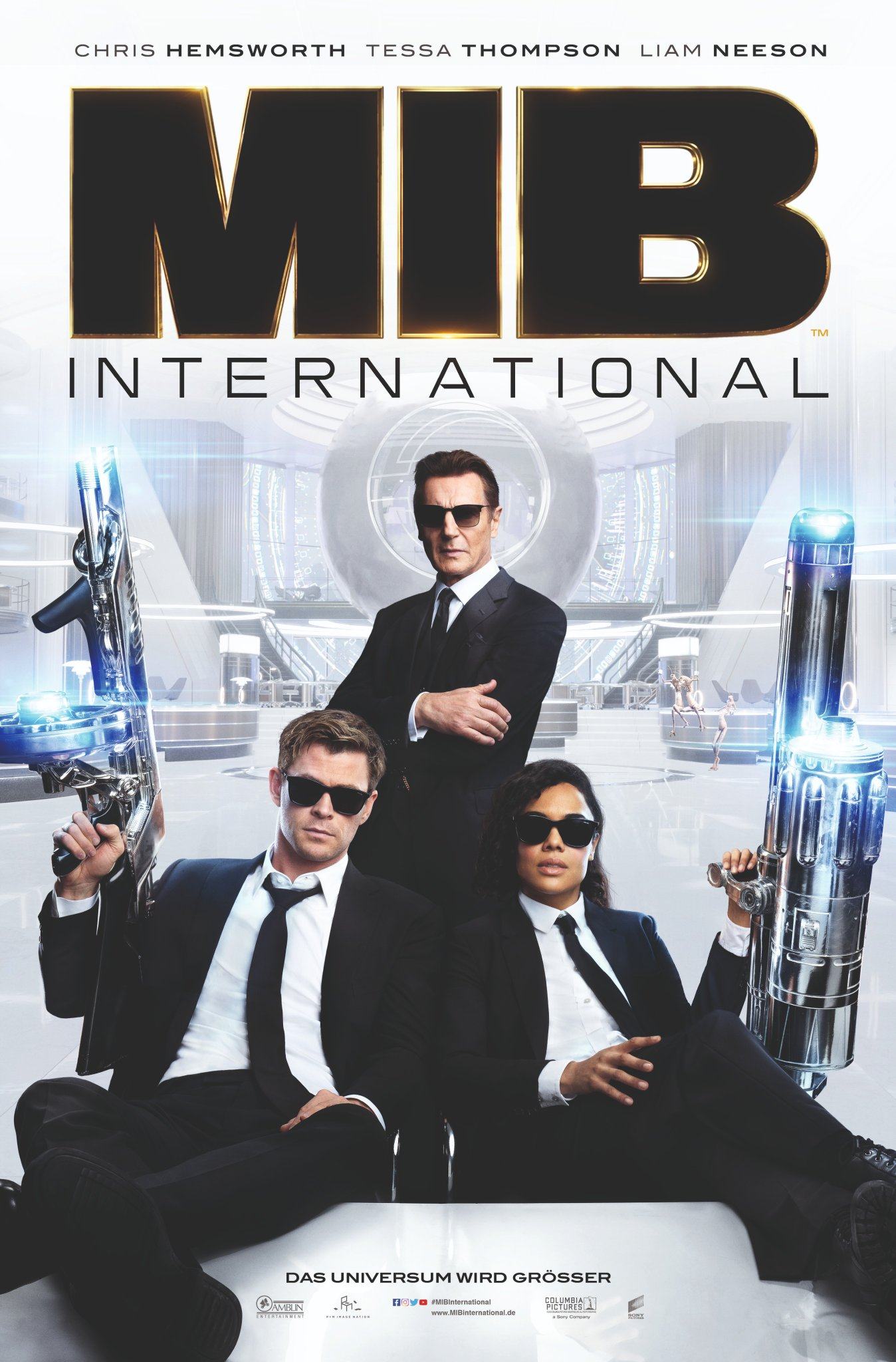 Men in Black International Trailer & Poster