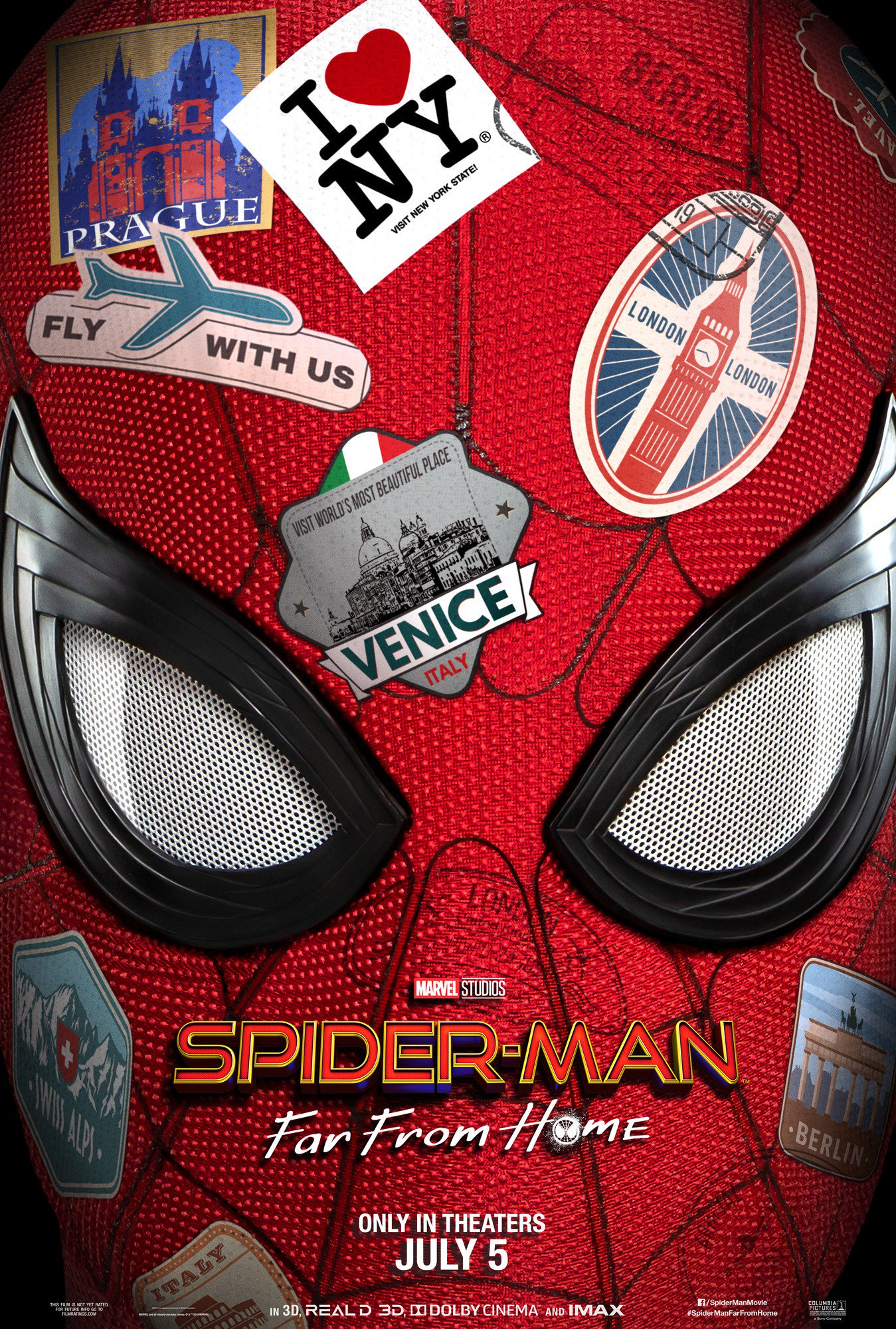Spider Man Far From Home Teaser Poster
