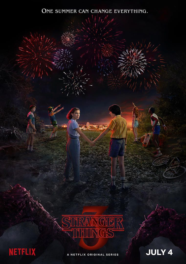 Stranger Things Staffel 3 Start & Poster