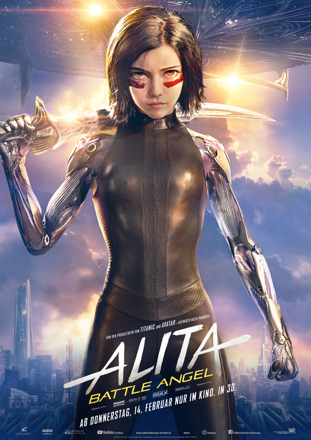 Alita: Battle Angel (2019) Kritik