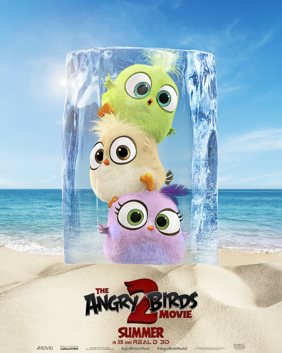 Angry Birds 2 Trailer & Poster 1