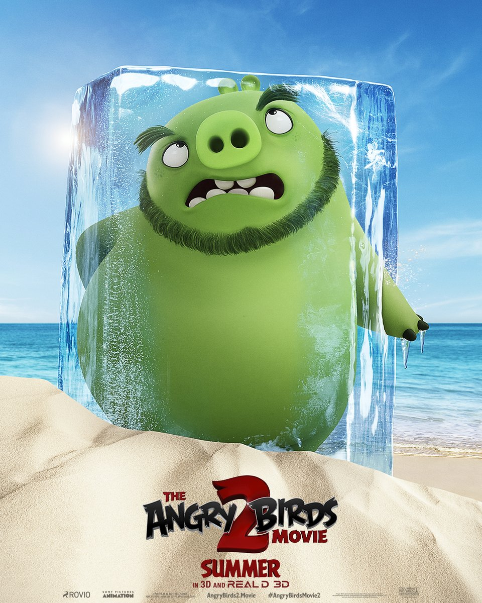 Angry Birds 2 Trailer & Poster 2