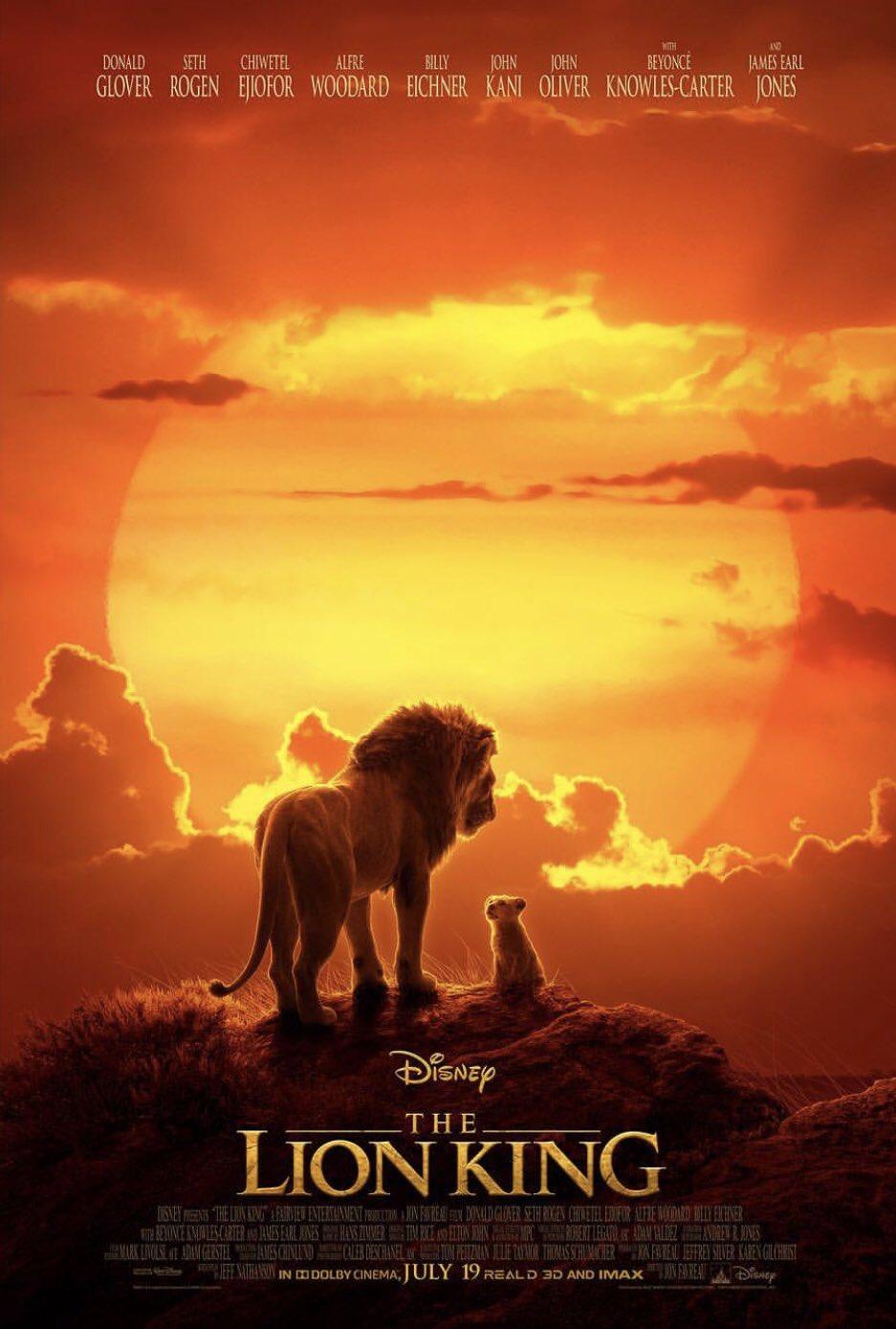 Der König der Löwen TV Spot & Poster