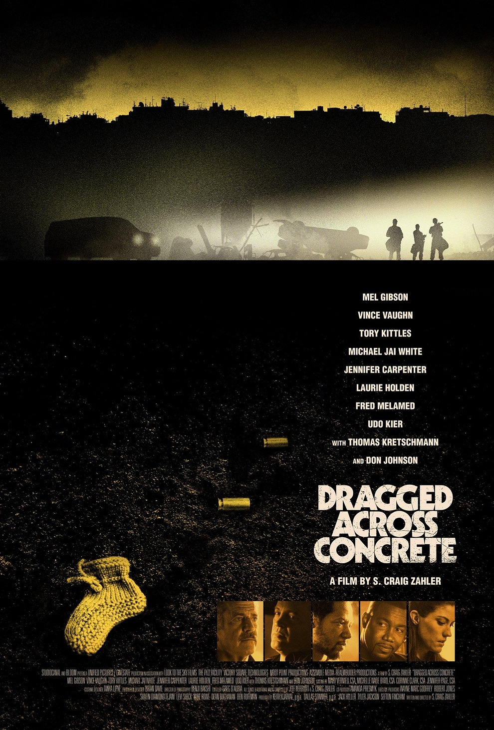 Dragged Across Concrete Trailer & Poster