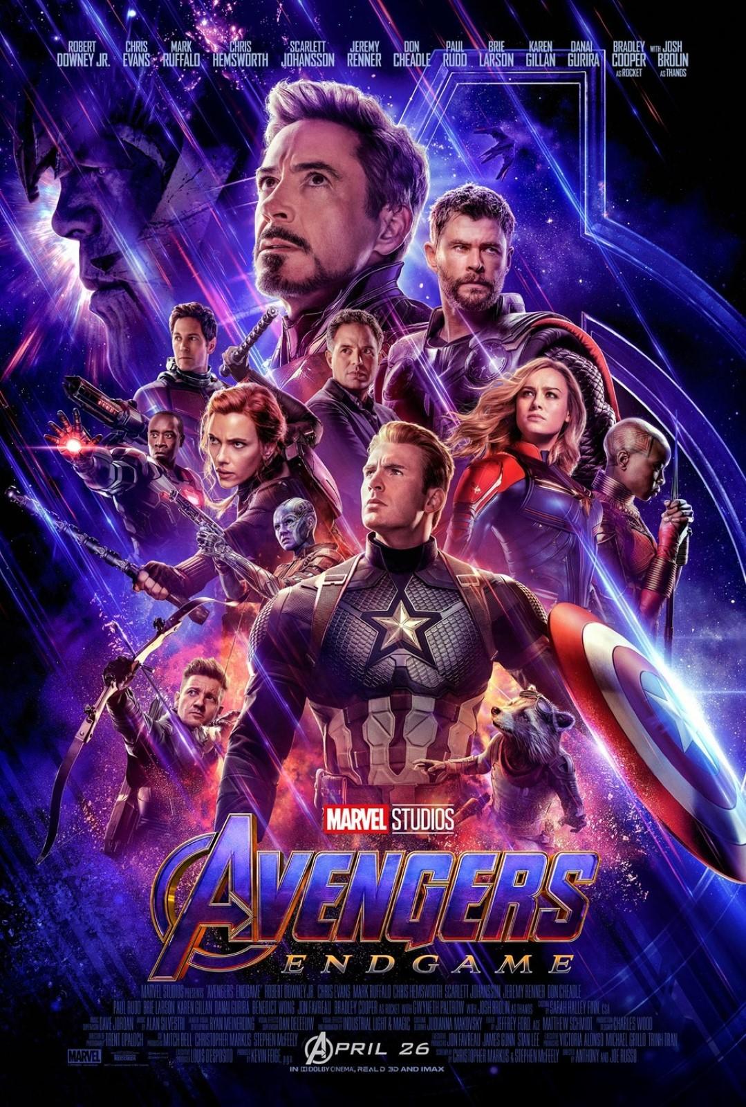 Avengers Endgame Trailer Rekord & Poster