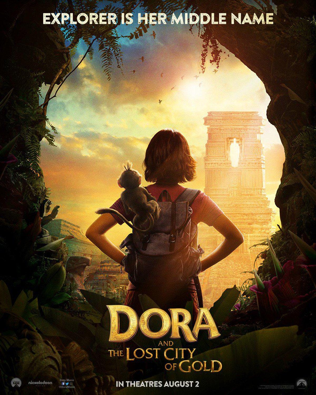 Dora und die goldene Stadt Trailer & Poster 1