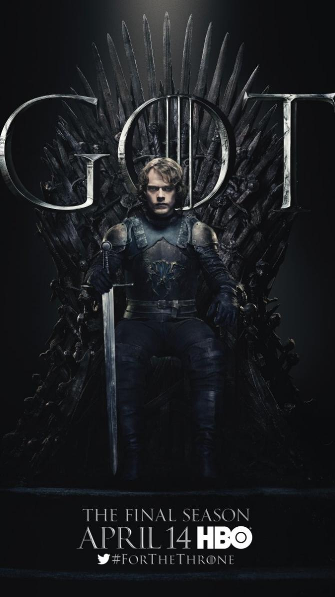 Game of Thrones Staffel 8 Trailer & Charakterposter 3
