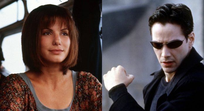 Matrix Sandra Bullock